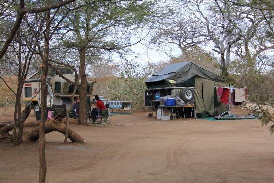 Kwalape Safari Lodge, Camping