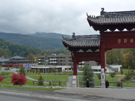 Leoben, Austria: Hotel mit Asia Spa