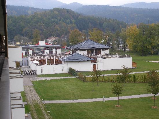 Leoben, Austria: Spa vom Zimmer aus bei Tag