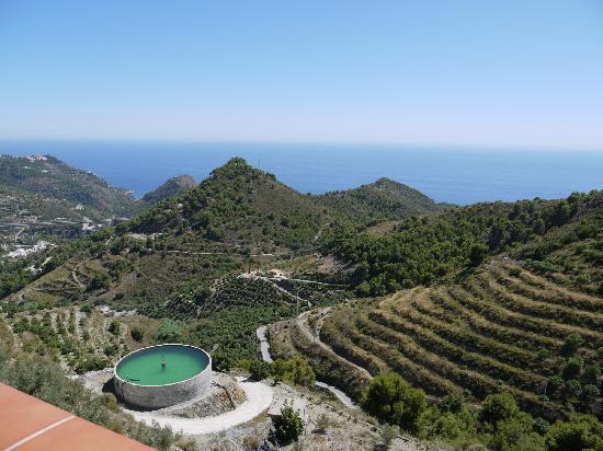 Villa Bonifacio: View Down Mountain