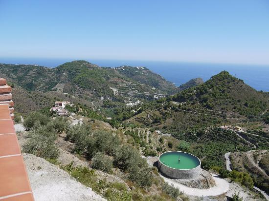 Villa Bonifacio: View from Front left of Balcony/Pool Area