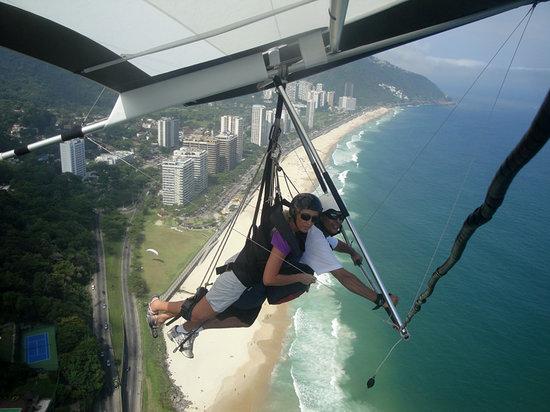 Hilton Fly Rio: Hang-gliding