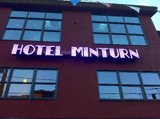 Hotel Minturn: Outside