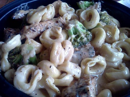 Schoolhouse Pizza: Tortellini with Chicken and Broccoli