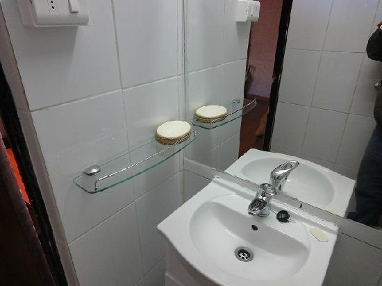 Hotel Geiser del Tatio: Baño reparado