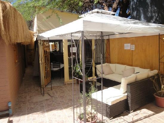 Hotel Geiser del Tatio: Terraza