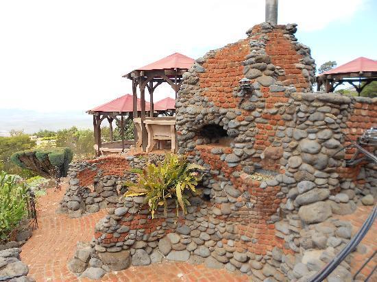 Kula Lodge: Here is the pizza oven