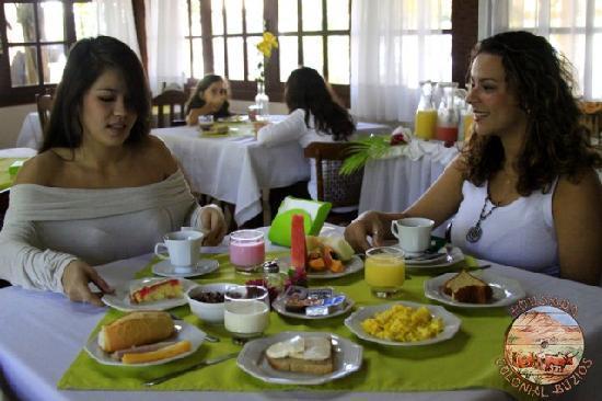 Pousada Colonial Buzios: Café da Manhã