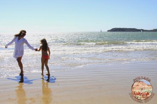 Pousada Colonial Buzios: Praia de Manguinhos