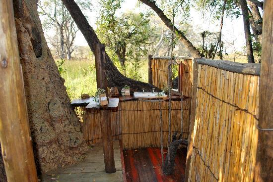 Delta Camp: il bagno