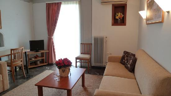 Zina Hotel Apartments: living room