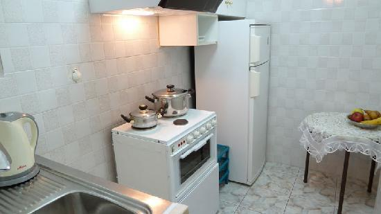 Zina Hotel Apartments: fully equipped kitchen
