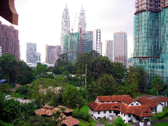 Royale Chulan Kuala Lumpur: Beautiful view from our room window