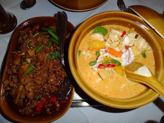 Supan's Restaurant : pittig rundvlees en gele curry