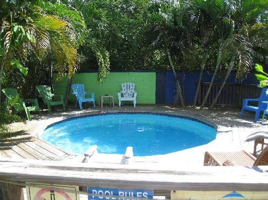 Esperanza Inn: Small Pool in the Courtyard