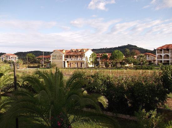 Plessas Palace Hotel: view from balcony