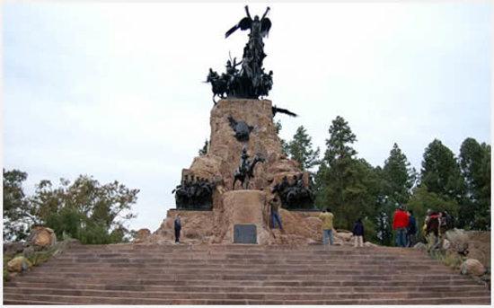 The Hill of Glory (Cerro de la Gloria): la cumbre del cerro
