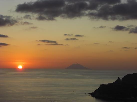 B&B Valentino: tramonto dalla terrazza