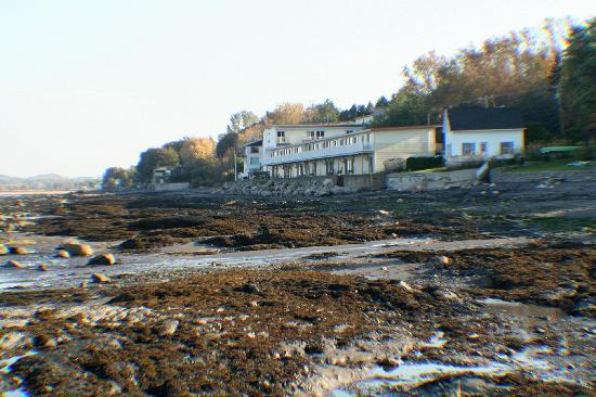 Auberge Sur Mer : vue du motel