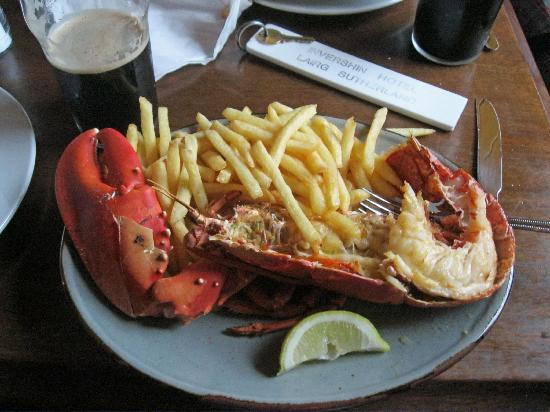 Invershin Hotel: Best lobster ever!!!!