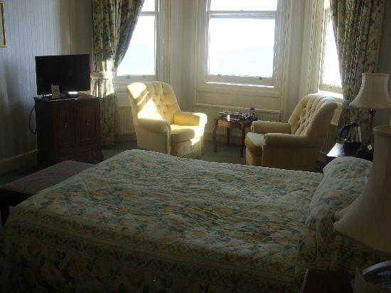 The Grand Hotel Eastbourne : Bedroom