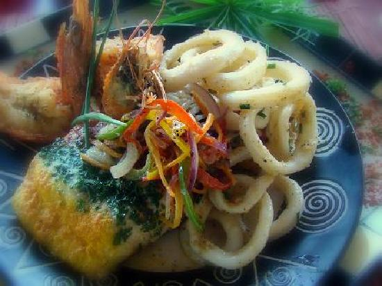 African Peninsula Guest House: Delicious food in our restaurant