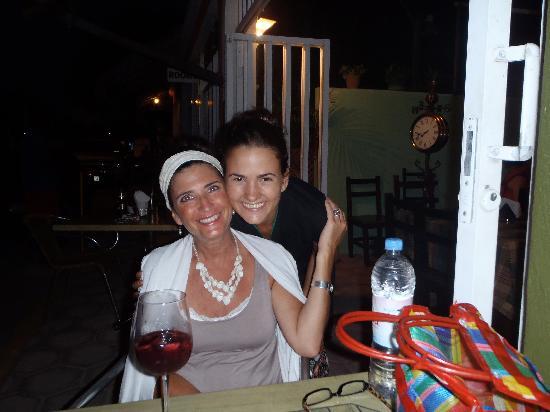 Al Chimichurri: Our gracious hostess/server