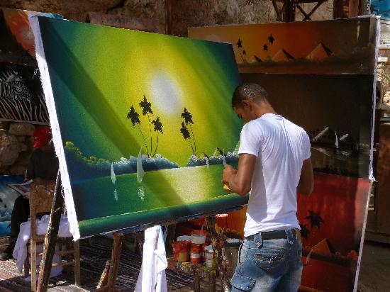 Dreams Beach Resort: Paintings done to your request
