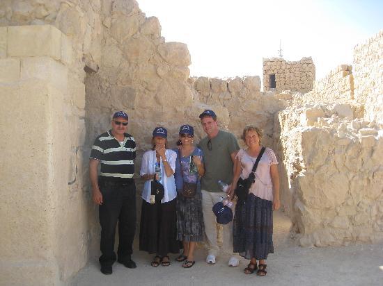 Abboud Tours: Masada!