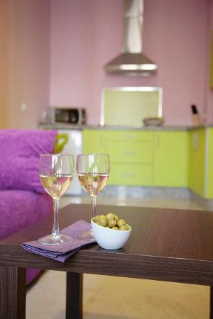 Apartamentos Rey de Sevilla: Apartamento Pistacho
