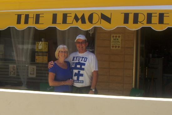 Buzz and Maureen at The Lemon Tree.