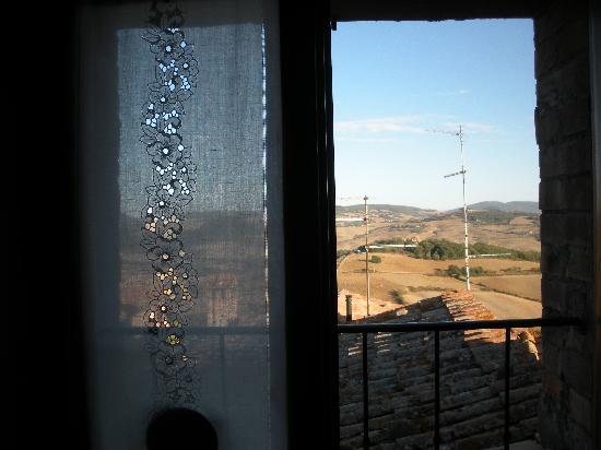 Antica Locanda: veduta dalla mia finestra