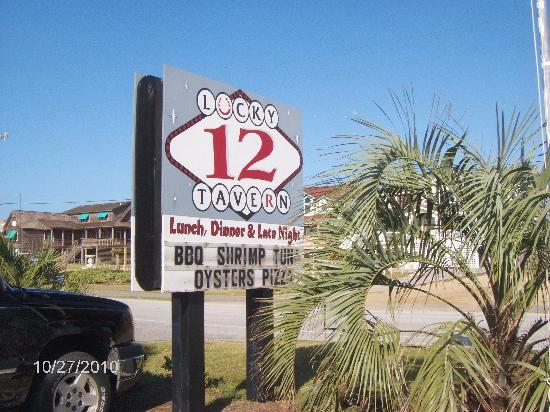 Lucky 12 Tavern: LUCKY 12 (ON RT.12, MILEPOST 12)