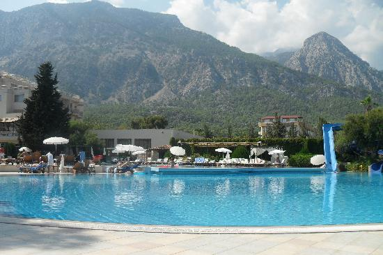 Rixos Beldibi: nice mountain backdrop