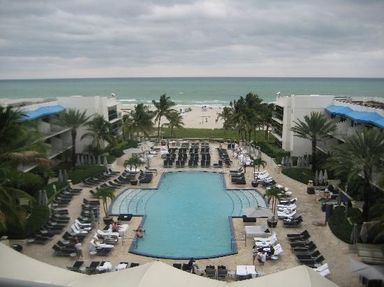 The Ritz-Carlton, South Beach: View from balcony