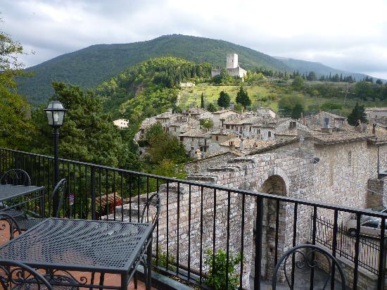 La Rocca Hotel: Dalla terrazza del ristorante
