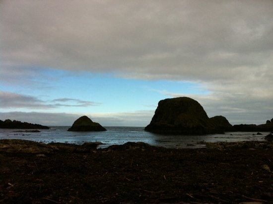 Ballintoy, UK: a different angle at white park bay