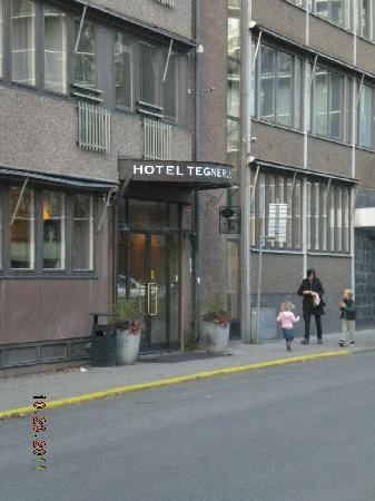 Hotel Micro: The main entrance