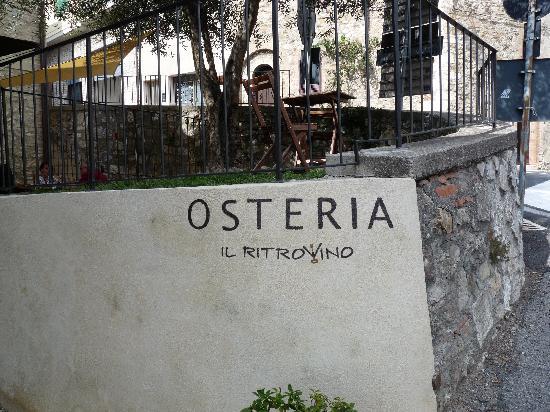 Osteria Il RitroVino: esta fotografia... es ll Ritrovino