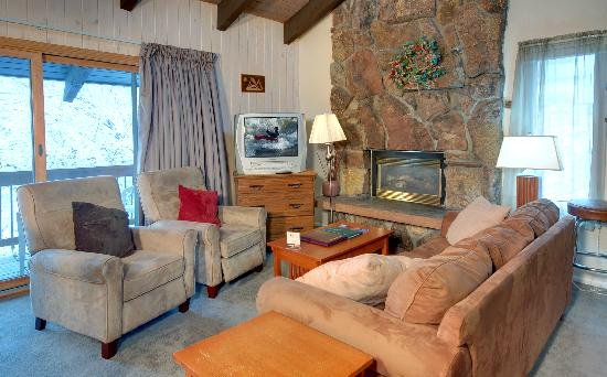 Storm Meadows at Christie Base: Sample living room