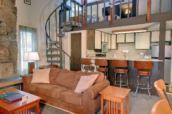 Storm Meadows at Christie Base: Kitchen & loft