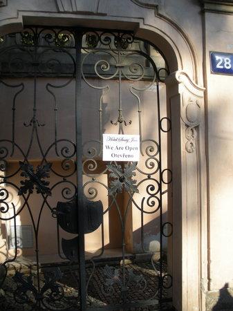 Hotel u Svateho Jana: Entrance