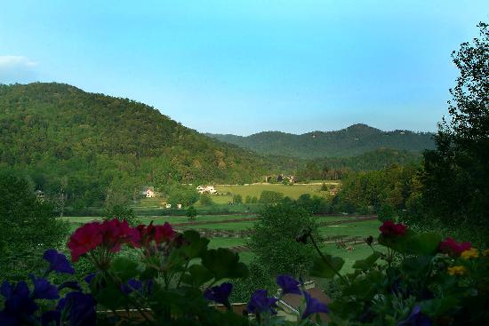 Valle Crucis Bed & Breakfast: View from the Front Porch