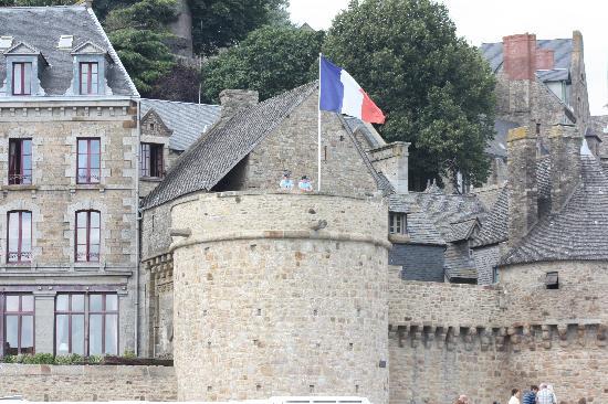 Vue int rieur picture of abbaye du mont saint michel for Gendarmerie interieur