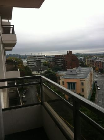 Chateau Victoria Hotel and Suites: view from the suit