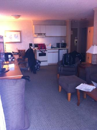 Chateau Victoria Hotel and Suites: living area