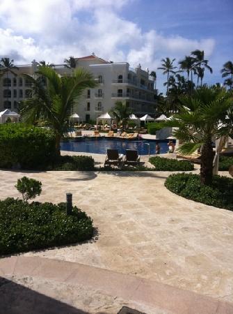 Iberostar Grand Hotel Bavaro: vista zona piscina