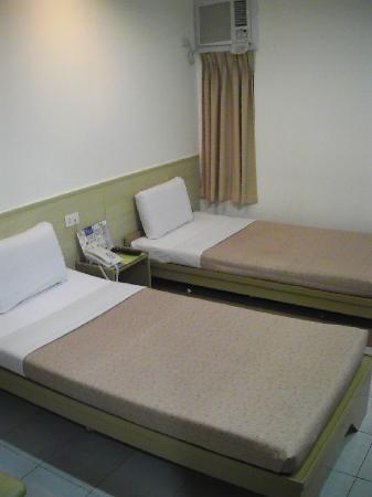 Hotel Pier Cuatro: Blick in eines der Doppelzimmer