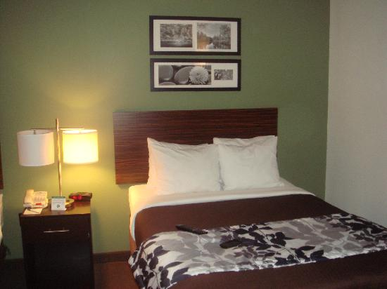 Sleep Inn & Suites Downtown Inner Harbor: Half of a double room.