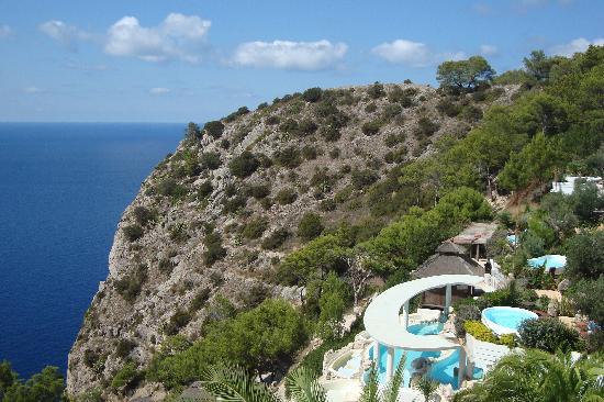 Hacienda Na Xamena, Ibiza: vistas desde las terrazas